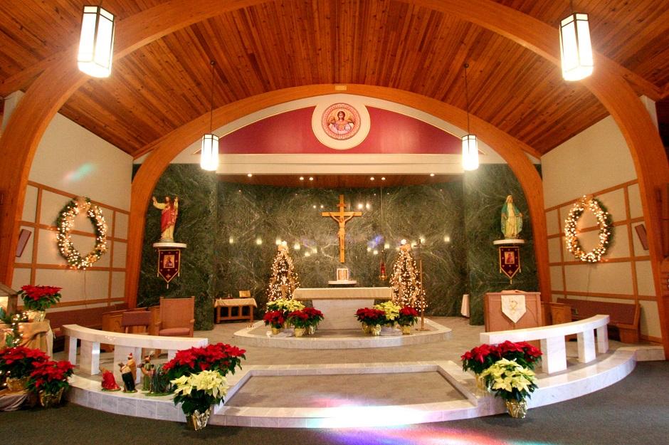 ST. MICHAEL'S CATHOLIC CHURCH