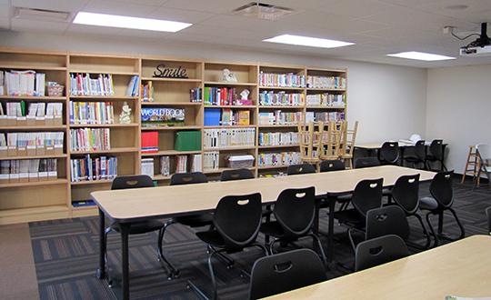 Circle USD 375 Oil Hill Elementary Media Center