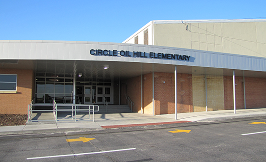 Circle USD 375 Oil Hill Elementary New Entrance